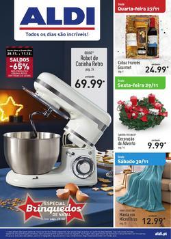 Folheto Aldi Brinquedos de 27 Novembro a 3 Dezembro pág. 1