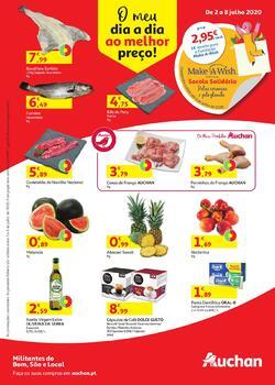 Auchan de 2 a 8 Julho