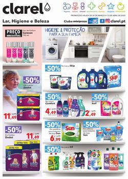 Higiene e proteção para a sua família de 26 Março a 15 Abril