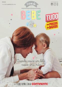Feira do Bebé - Lojas Continente Modelo de 7 a 27 Janeiro