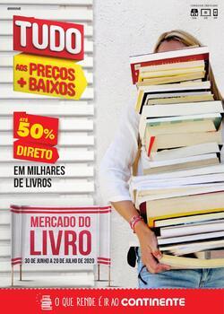 Mercado do Livro de 30 Junho a 20 Julho