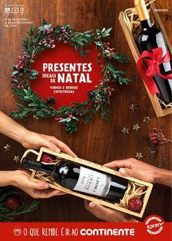 Presentes Natal de 3 Novembro a 24 Dezembro