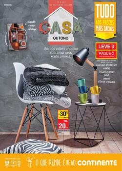 Folheto Continente Casa Outono de 15 a 28 Outubro