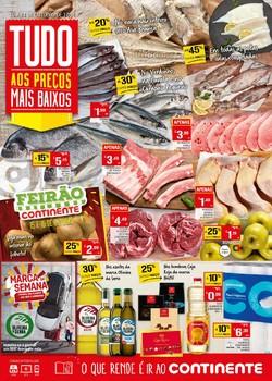 Folheto Continente Lojas Hiper/Modelo de 15 a 21 Outubro