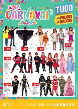 Carnaval - Lojas Modelo de 13 a 24 Fevereiro pág. 1