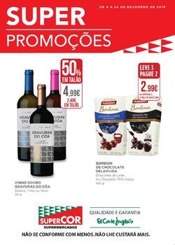 Folheto El Corte Inglés Super Promoções de 6 a 24 Dezembro