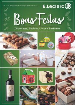 Folheto E.leclerc Boas Festas de 29 Novembro a 15 Dezembro
