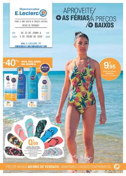 Aproveite mais as férias a preços mais baixos de 23 Junho a 5 Julho pág. 1
