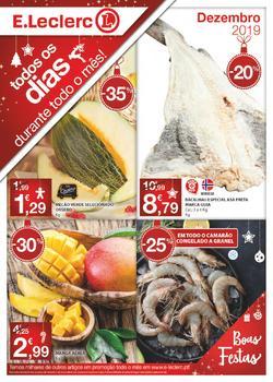 Folheto E.leclerc Promoção de 1 a 31 Dezembro