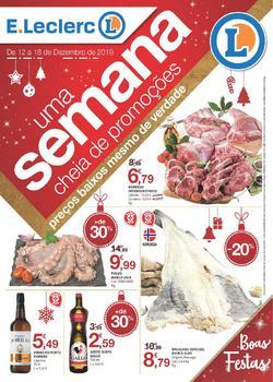 Folheto E.leclerc Uma semana cheia de promoções de 12 a 18 Dezembro