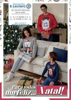 Para todos um Feliz Natal de 3 Novembro a 24 Dezembro