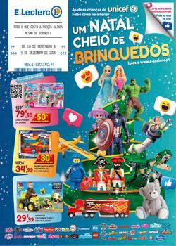 Um Natal cheio de brinquedos de 10 Novembro a 9 Dezembro