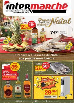 Folheto Intermarché Lojas Contact de 12 a 18 Dezembro