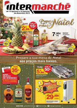 Folheto Intermarché Lojas Super de 12 a 18 Dezembro