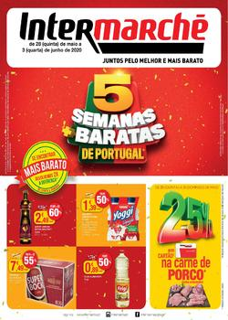 5 semanas mais barata de Portugal de 28 Maio a 3 Junho