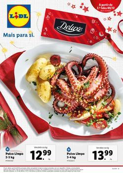 Folheto Lidl Alimentar de 9 a 15 Dezembro