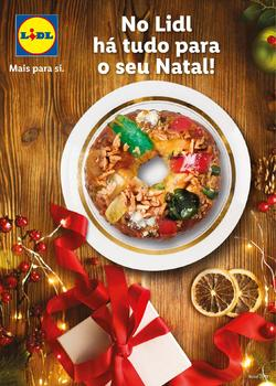 Folheto Lidl Natal de 11 Novembro a 24 Dezembro