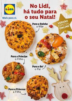 No Lidl, há tudo para o seu Natal! de 2 Novembro a 24 Dezembro