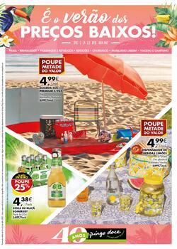 É o verão dos preços baixos! de 2 a 22 Julho
