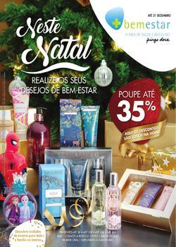 Folheto Pingo Doce Bem-estar Natal - Lojas pequenas de 14 Novembro a 31 Dezembro