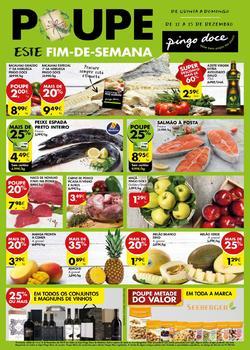 Folheto Pingo Doce Fim de semana Madeira de 12 a 15 Dezembro