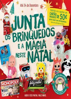 Folheto Pingo Doce Brinquedos - Lojas Médias de 21 Novembro a 24 Dezembro