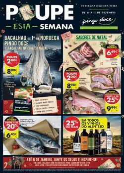 Folheto Pingo Doce Lojas Hiper/Mega de 10 a 16 Dezembro