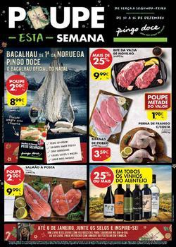 Folheto Pingo Doce Lojas Madeira de 10 a 16 Dezembro
