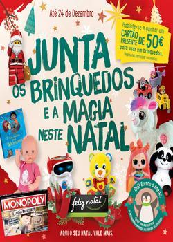 Folheto Pingo Doce Brinquedos - Lojas Pequenas de 21 Novembro a 24 Dezembro