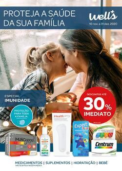 Proteja a saúde da sua família de 10 Novembro a 31 Dezembro