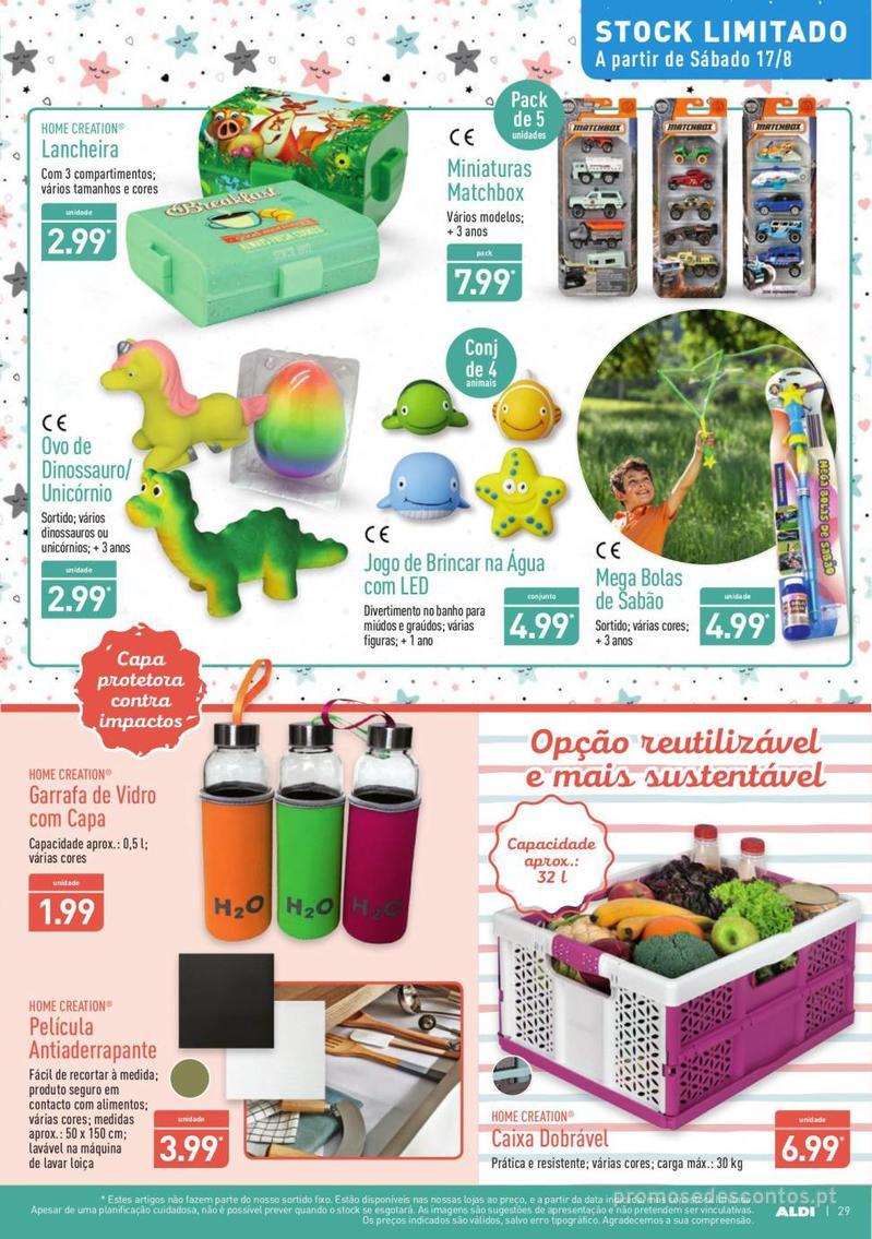 Folheto Aldi Summer party - 14 de Agosto a 20 de Agosto - página 29