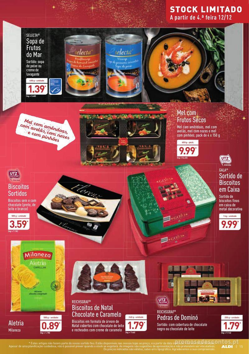 Folheto Aldi Presentes para todos - 12 de Dezembro a 18 de Dezembro - página 15