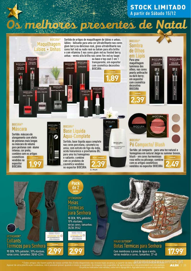 Folheto Aldi Presentes para todos - 12 de Dezembro a 18 de Dezembro - página 25