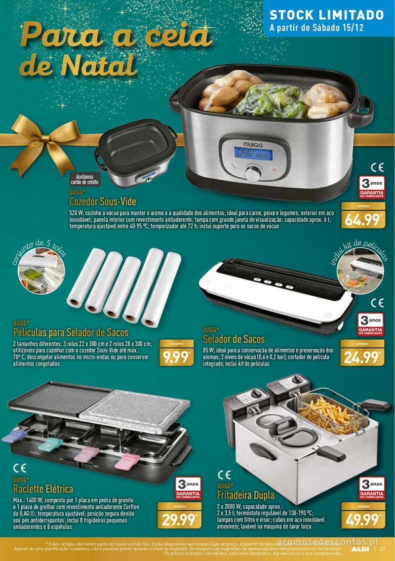 Folheto Aldi Presentes para todos - 12 de Dezembro a 18 de Dezembro - página 29