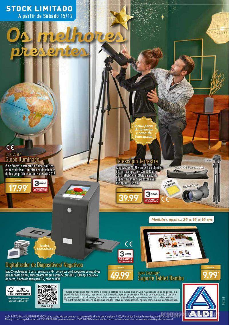 Folheto Aldi Presentes para todos - 12 de Dezembro a 18 de Dezembro - página 32