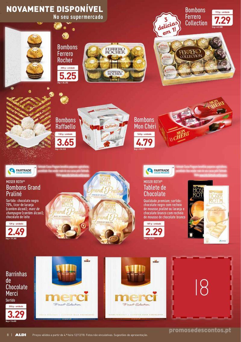 Folheto Aldi Presentes para todos - 12 de Dezembro a 18 de Dezembro - página 8
