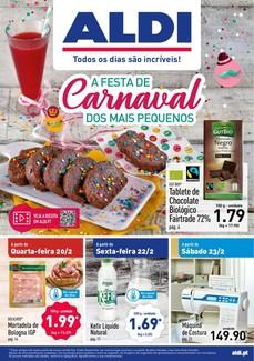 A festa de carnaval dos mais pequenos - 20 de Fevereiro a 26 de Fevereiro