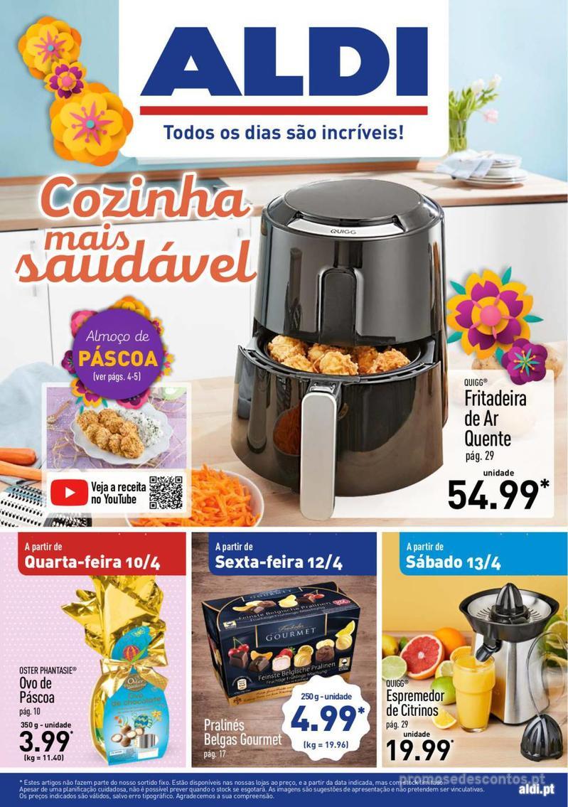 Folheto Aldi Feliz Páscoa - 17 de Abril a 23 de Abril - página 1