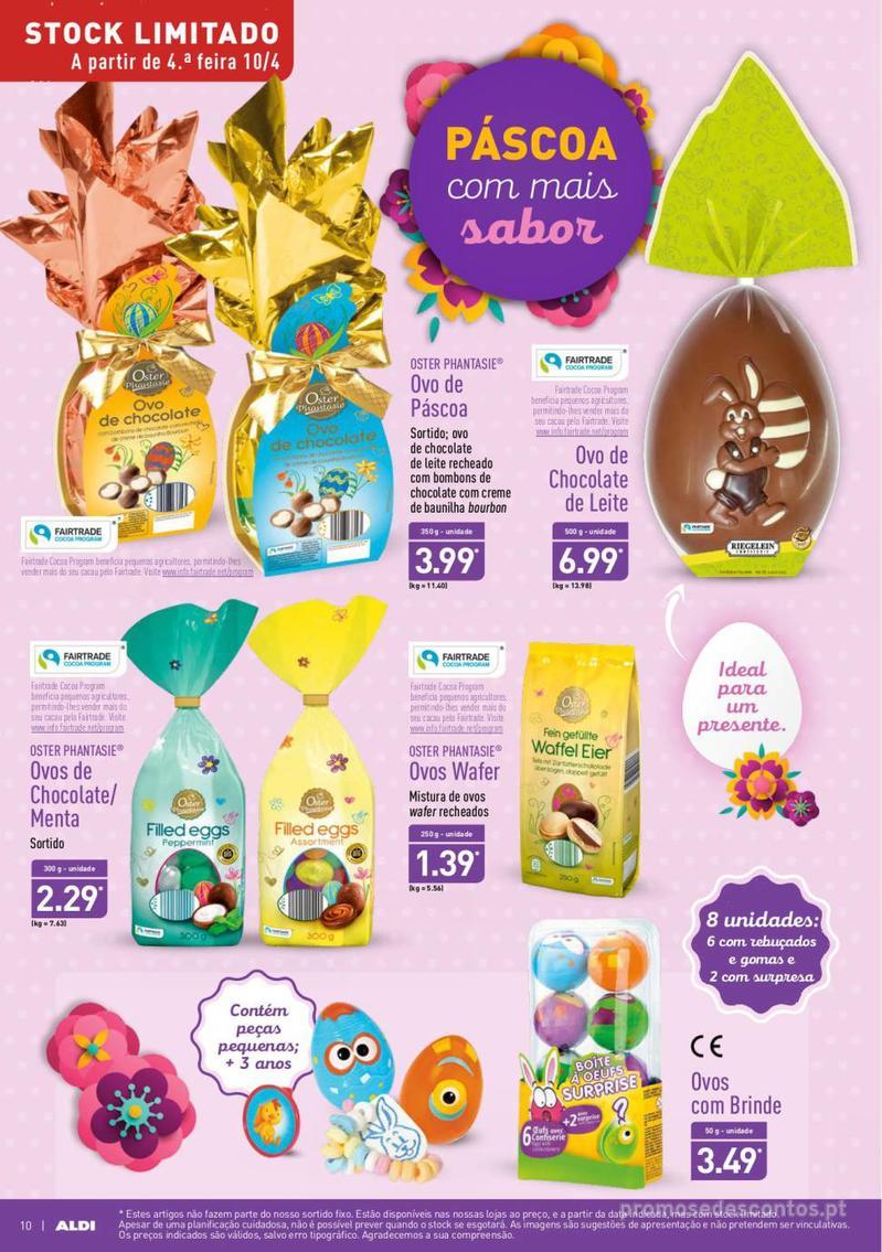 Folheto Aldi Feliz Páscoa - 17 de Abril a 23 de Abril - página 10