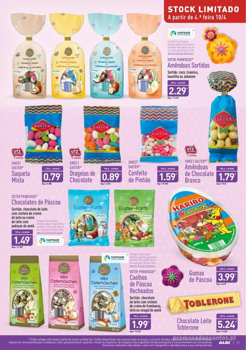 Folheto Aldi Feliz Páscoa - 17 de Abril a 23 de Abril - página 11