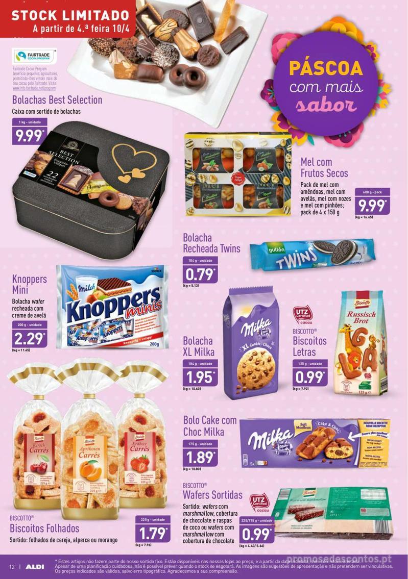 Folheto Aldi Feliz Páscoa - 17 de Abril a 23 de Abril - página 12