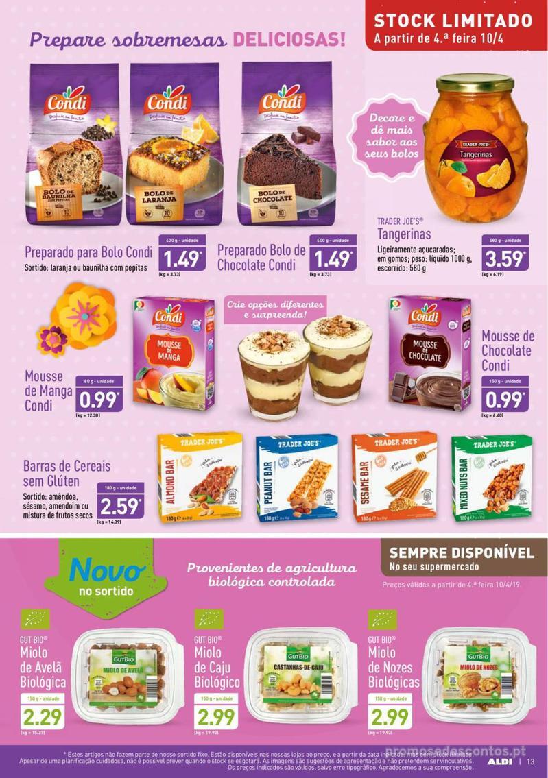 Folheto Aldi Feliz Páscoa - 17 de Abril a 23 de Abril - página 13