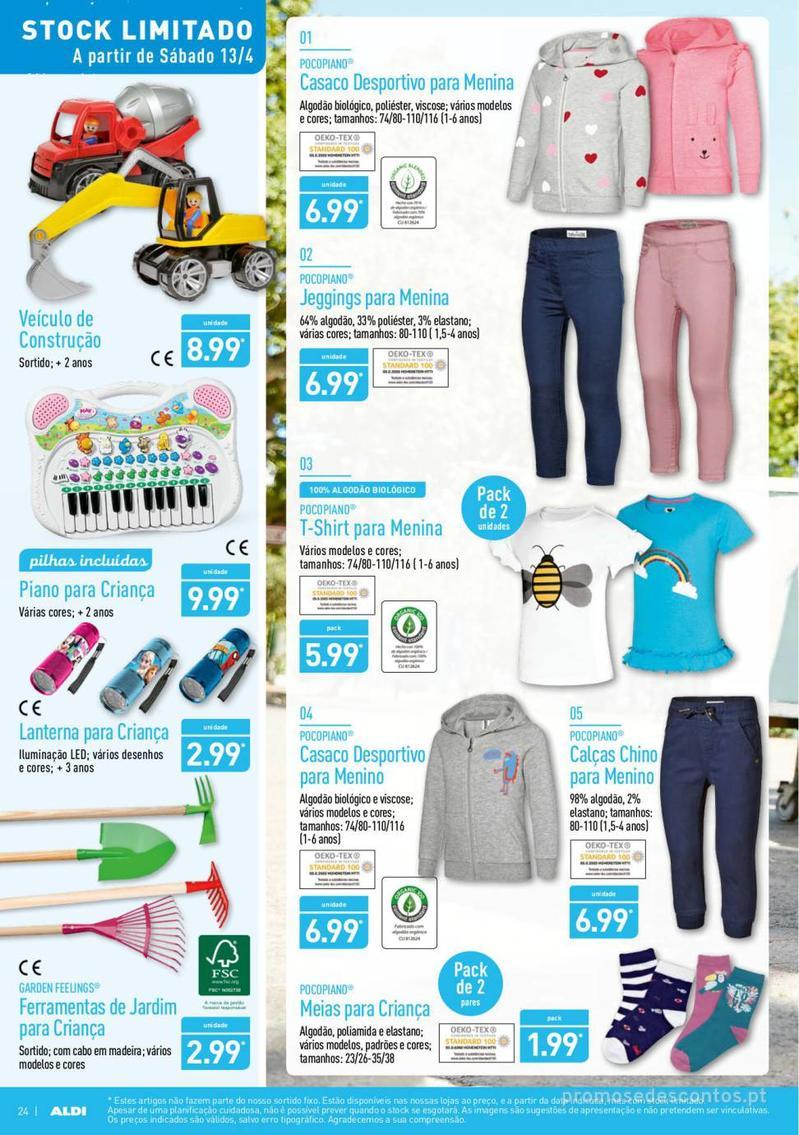 Folheto Aldi Feliz Páscoa - 17 de Abril a 23 de Abril - página 24