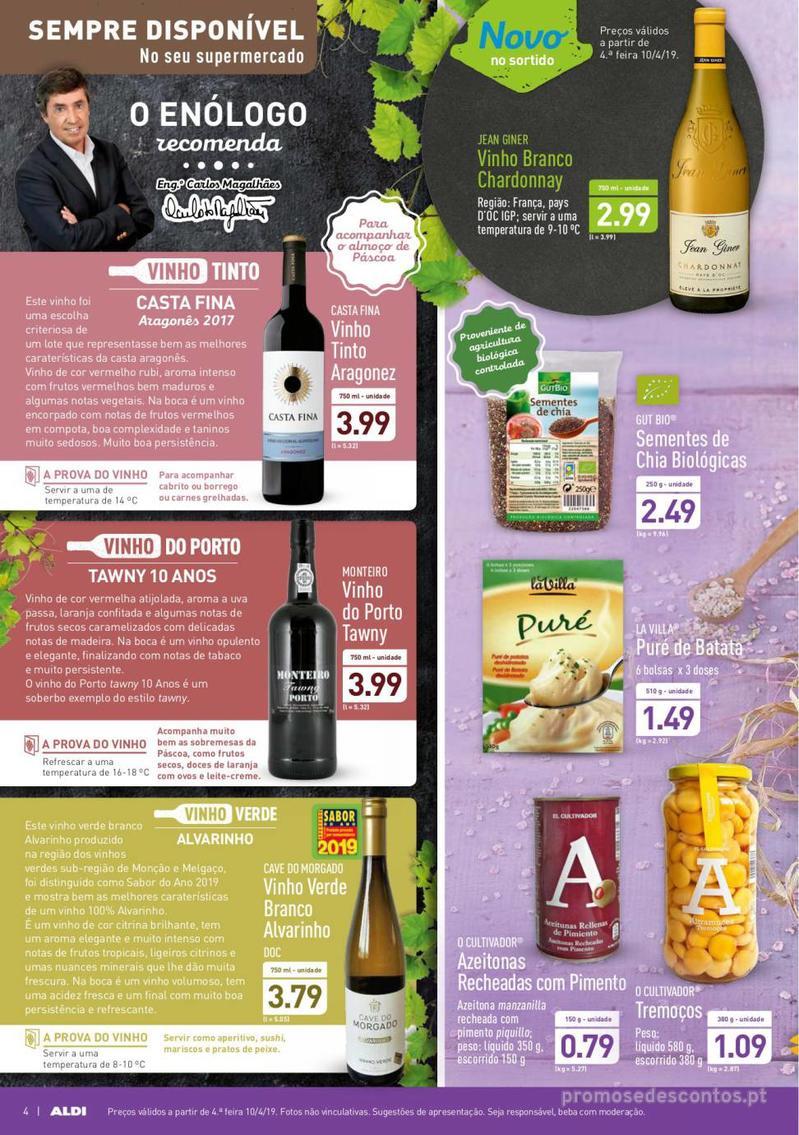Folheto Aldi Feliz Páscoa - 17 de Abril a 23 de Abril - página 4
