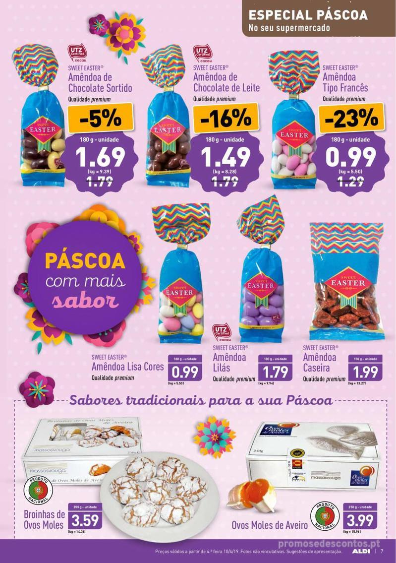 Folheto Aldi Feliz Páscoa - 17 de Abril a 23 de Abril - página 7