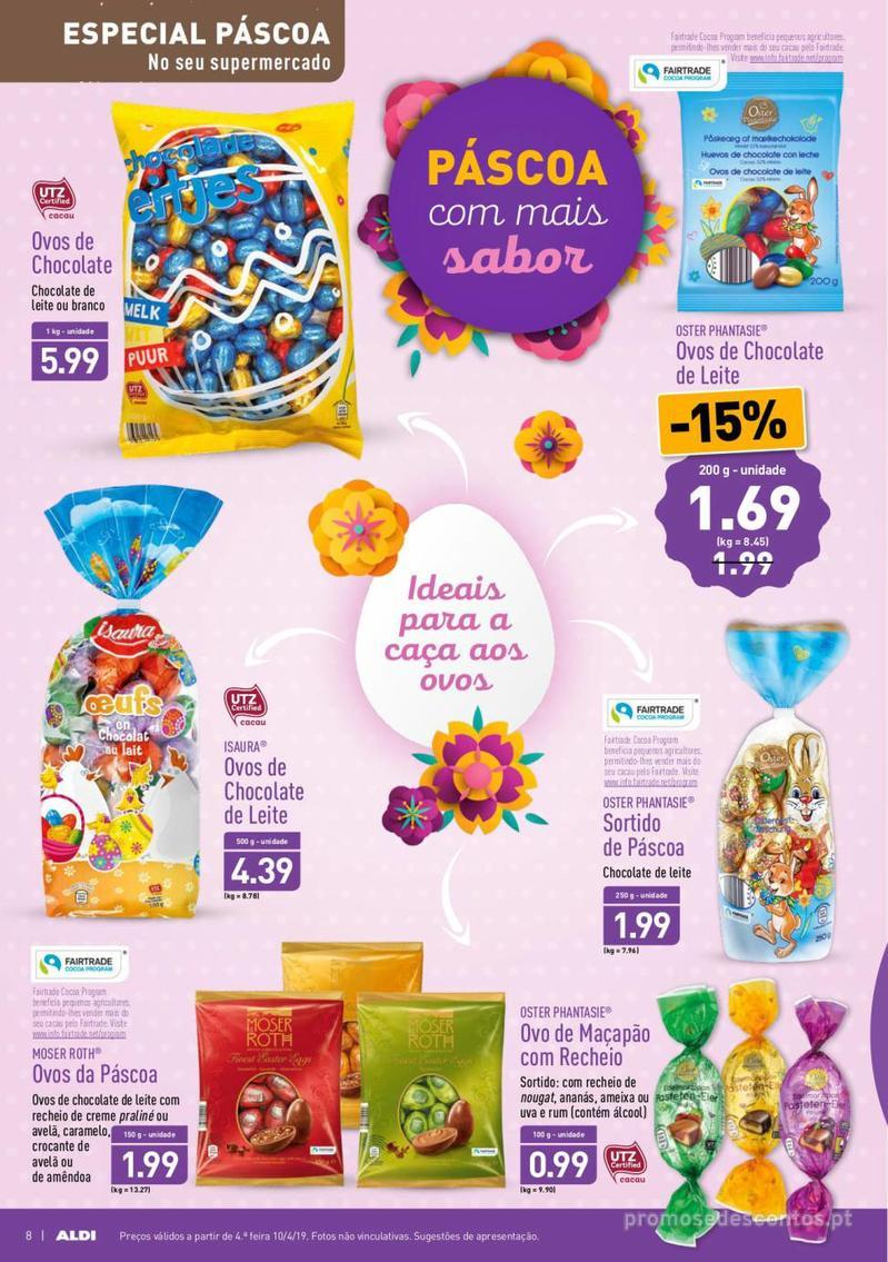Folheto Aldi Feliz Páscoa - 17 de Abril a 23 de Abril - página 8
