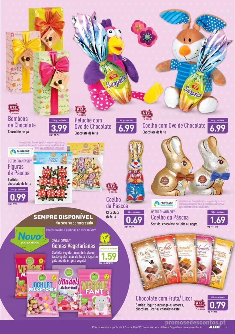 Folheto Aldi Feliz Páscoa - 17 de Abril a 23 de Abril - página 9