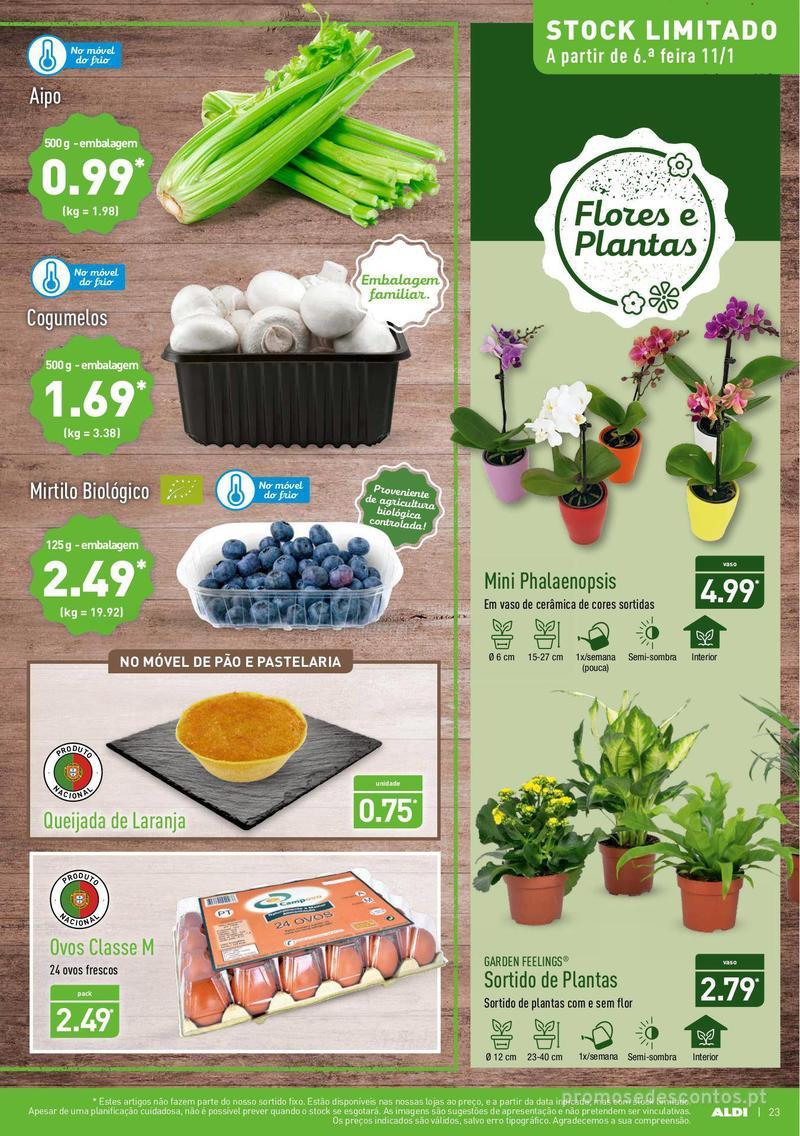 Folheto Aldi Semana Detox - 9 de Janeiro a 15 de Janeiro - página 23