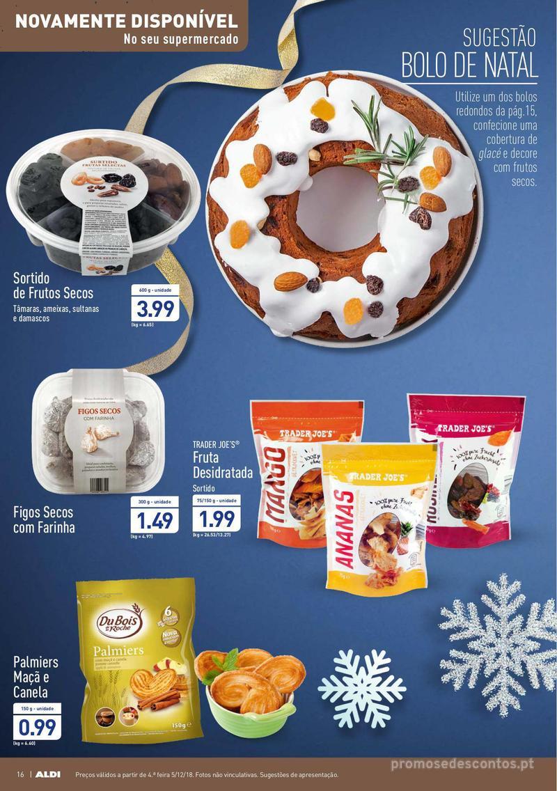 Folheto Aldi Um Natal elegante - 5 de Dezembro a 11 de Dezembro - página 16