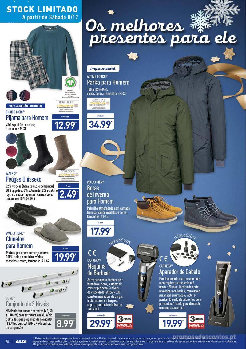 Folheto Aldi Um Natal elegante - 5 de Dezembro a 11 de Dezembro - página 28